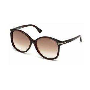 Tom Ford Brown Alicia Sunglasses